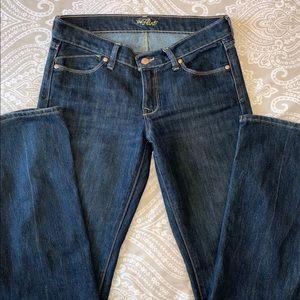 "Old Navy ""The Flirt"" Jeans Boot Cut Size 4 EUC"